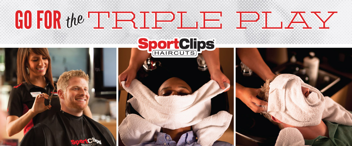 The Sport Clips Haircuts of Viera Triple Play